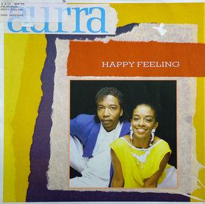 Single Cover Aurra - Happy Feeling