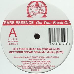 Single Cover Rare Essence - Get Your Freak On