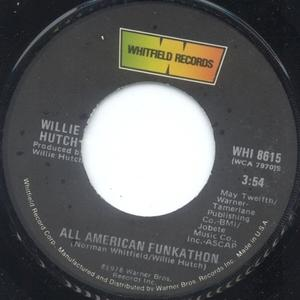 Single Cover Willie - All American Funkathon Hutch