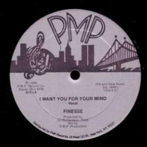 Single Cover Finesse - I Want You For My Mind