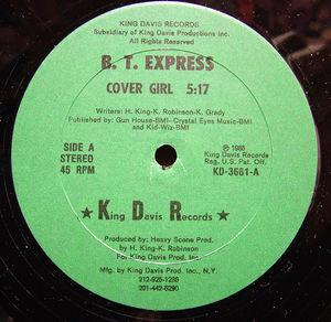 Single Cover B.t. Express - Cover Girl
