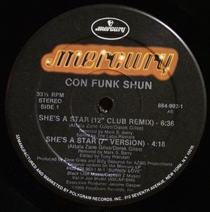 Single Cover Con Funk Shun - She's A Star