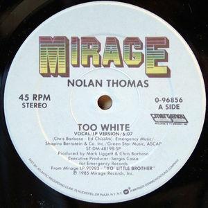 Single Cover Nolan - Too White Thomas