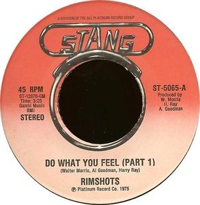 Single Cover The - Do What You Feel Rimshots