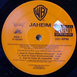 Single Cover Jaheim - Just In Case