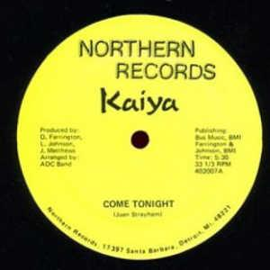 Single Cover Kaiya - Come Tonight