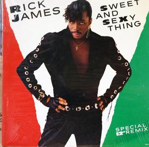 Single Cover Rick - Sweet And Sexy Thing James