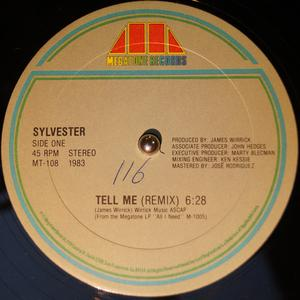 Single Cover Sylvester - Tell Me
