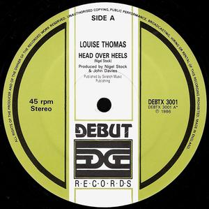 Single Cover Louise - Head Over Heels Thomas