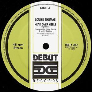 Single Cover Louise - Head Over Heels Thomas