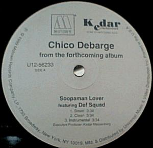 Single Cover Chico - Soopaman Lover Debarge