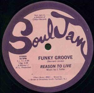 Single Cover Reason To Live - Funky Groove