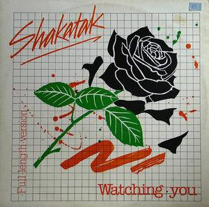 Single Cover Shakatak - Watching You