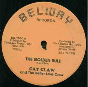 Single Cover Cat Claw - The Golden Rule