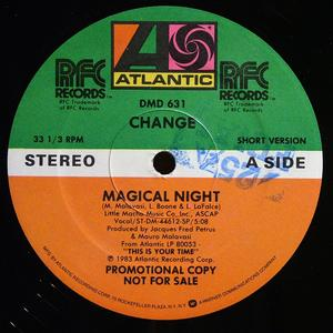 Single Cover Change - Magical Night