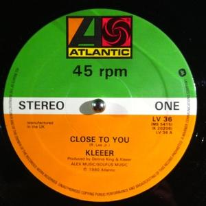 Single Cover Kleeer - Close To You