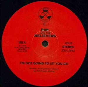 Single Cover Rim And The Believers - I'm Not Going To Let You Go