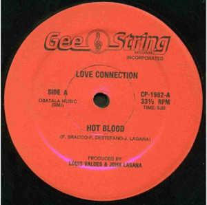 Single Cover Love Connection - Hot Blood