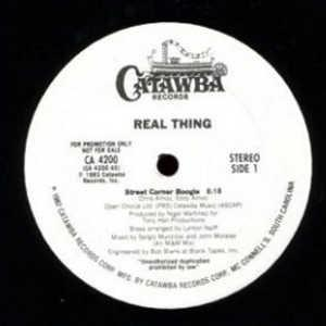 Single Cover The - Street Corner Boogie Real Thing