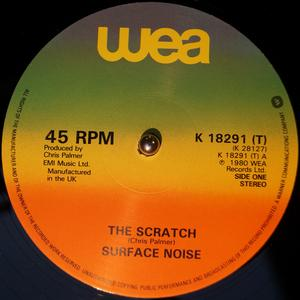 Single Cover Surface Noise - The Scratch