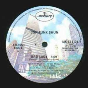 Single Cover Con Funk Shun - Bad Lady