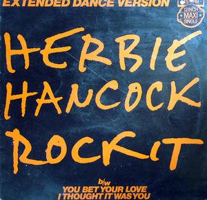 Single Cover Herbie - Rockit Hancock