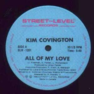 Single Cover Kim - All Of My Love Covington