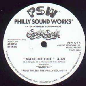 Single Cover Nadiyah - Make Me Hot