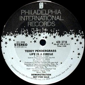 Single Cover Teddy - Life Is A Circle Pendergrass