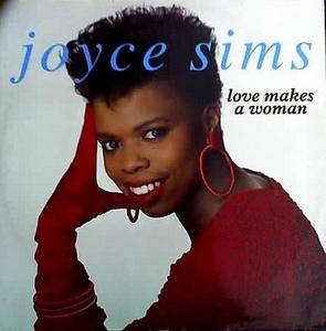 Single Cover Joyce - Love Makes A Woman Sims