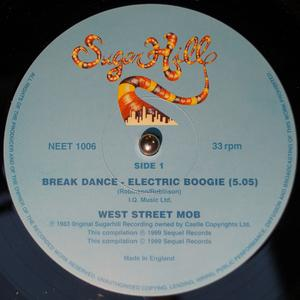 Single Cover West Street Mob - Break Dance-electric Boogie