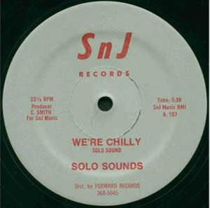 Single Cover Solo Sounds - We're Chilly