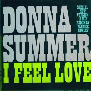 Single Cover Donna - I Feel Love Summer