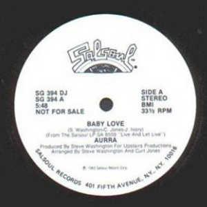 Single Cover Aurra - Baby Love