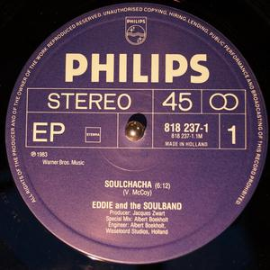 Single Cover Eddie And The Soulband - Soulchacha