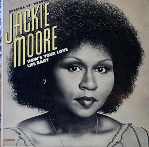 Single Cover Jackie - How's Your Love Life Baby Moore