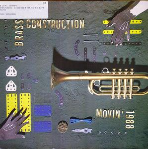Single Cover Brass Construction - Movin' 1988