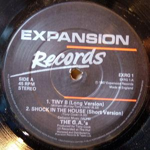 Single Cover The - Shock In The House G.a.'s