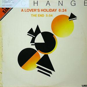 Single Cover Change - A Lover's Holiday