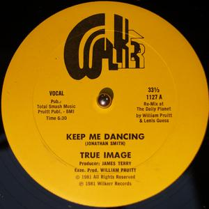 Single Cover True Image - Keep Me Dancing