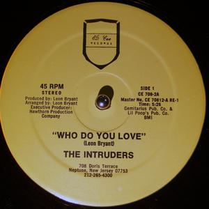 Single Cover The - Who Do You Love Intruders