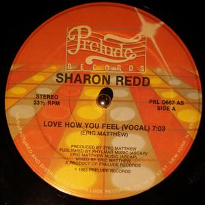 Single Cover Sharon - Love How You Feel Redd
