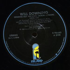 Single Cover Will - Sending Out An S.o.s. Downing