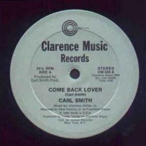 Single Cover Carl T. - Come Back Lover Smith