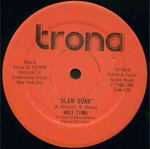 Single Cover Half Tyme - Slam Dunk