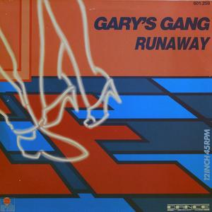 Single Cover Gary's Gang - Runaway