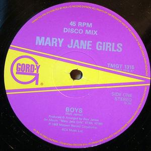 Single Cover Mary Jane Girls - Boys