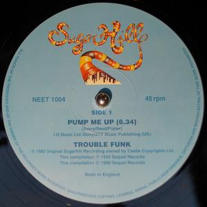 Single Cover Trouble Funk - Pump Me Up