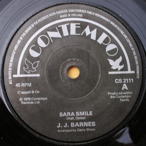 Single Cover J.j. - Sara Smile Barnes