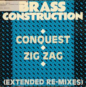 Single Cover Brass Construction - Conquest